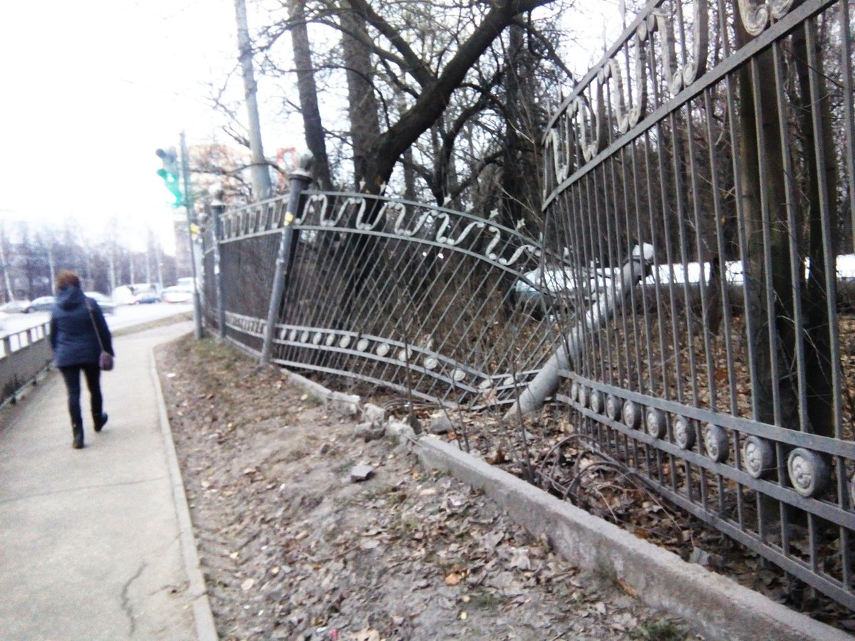 Нижегородцы просят Глеба Никитина «починить» забор в парке Дубки - фото 1