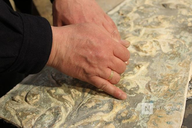 Реставрация исторической лепнины началась в нижегородском Дворце творчества - фото 21