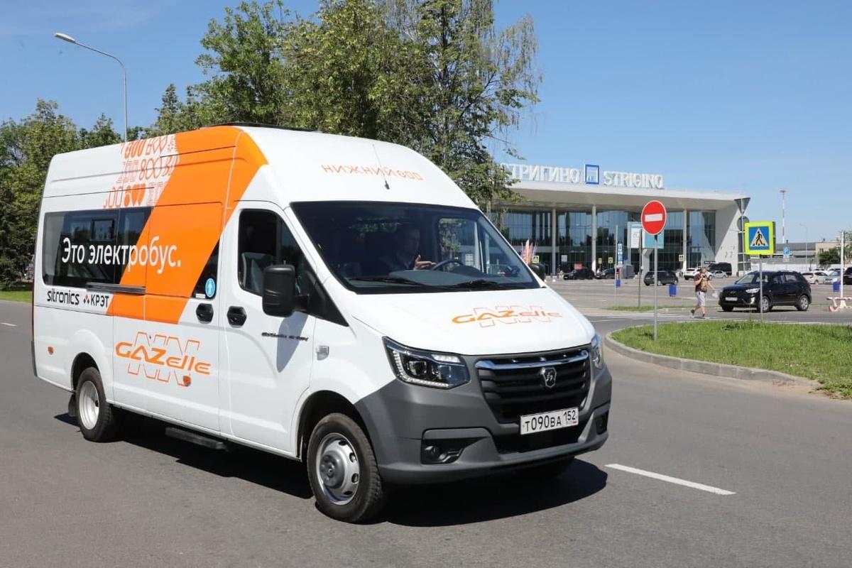 Электробус между до «Стригино» начнет курсировать с 27 июля. - фото 1