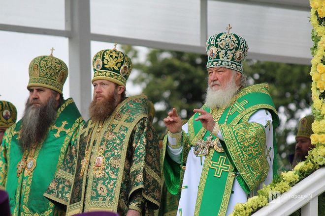 Патриарх Кирилл возглавил божественную литургию в Дивееве  - фото 31